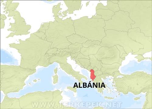 Albania Terkepek